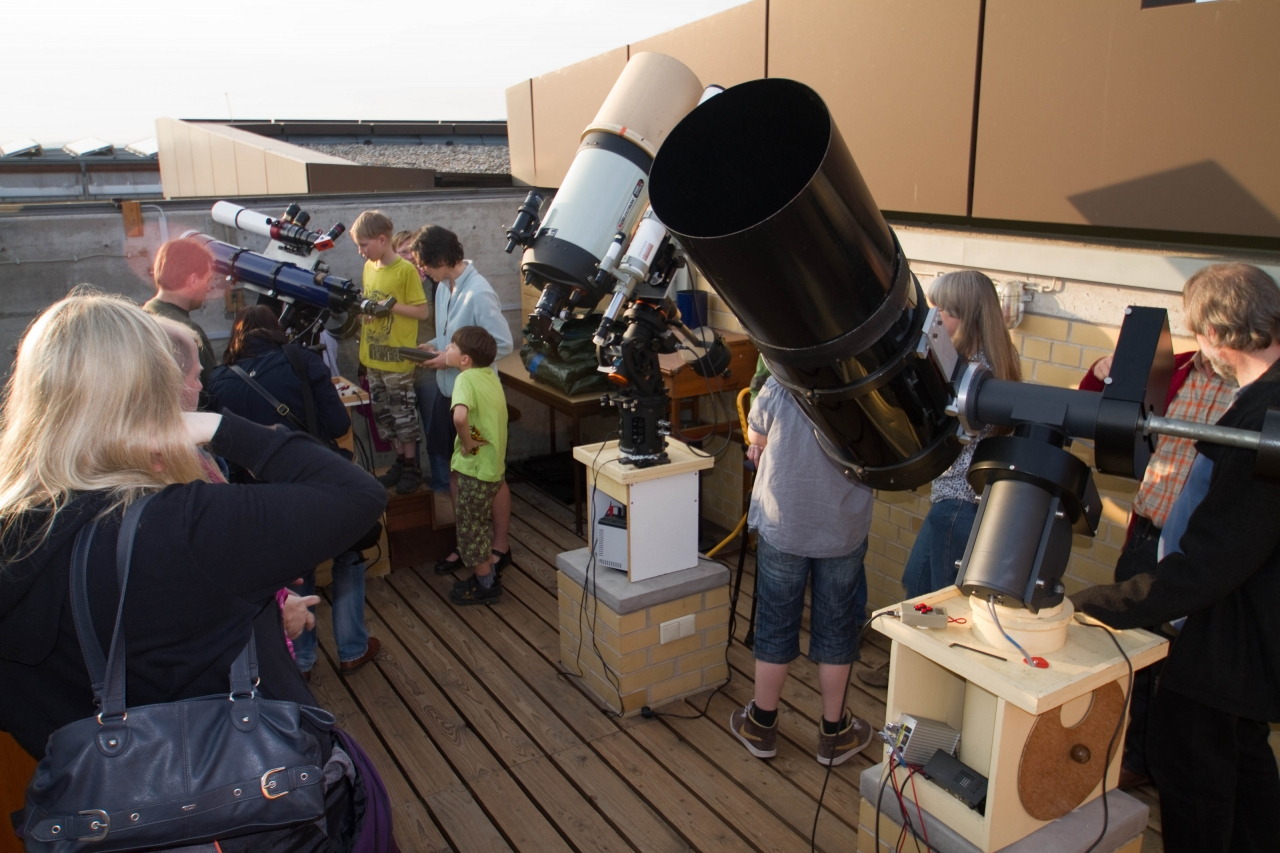 Sonnenbeobachtung Tag der Astronomie 2012