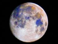 Der Mond in Farbe, 21. Oktober 2010