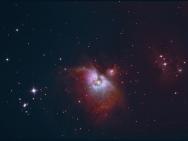 Der Orionnebel im Sternbild des Orion