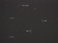 Das Leo-Triplett - Galaxien im Sternbild des Löwen