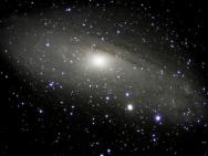 Andromedanebel M31 mit Nachbargalaxie M32