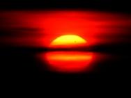 Venustransit 6. Juni 2012, fotografiert vom Frauenberg bei Marburg aus